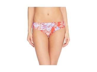 Red Carter Paradiso Reversible Hipster Bottom Women's Swimwear