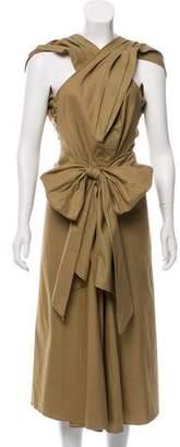 Tome Sleeveless Midi Dress w/ Tags