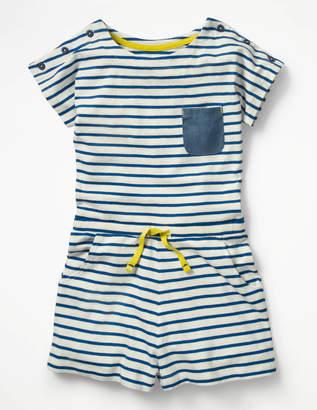 Boden Short-sleeved Jersey Romper