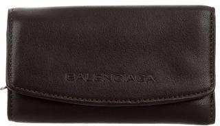 Balenciaga Balenciaga Brown Leather Keyholder