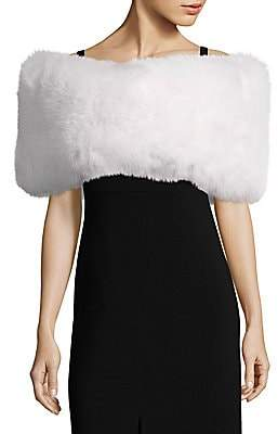 The Fur Salon Women's Fox Fur Wrap