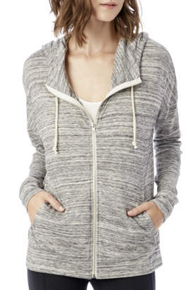Alternative Apparel Zip Up Hoodie Sweater