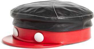 Gigi Burris Millinery x Disney Mickey 1928 Willie Leather Cap
