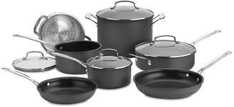 Cuisinart Chefs Classic 11-pc. Hard-Anodized Cookware Set