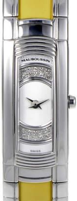 Mauboussin Maubossin Women's Lady Diamond Watch With Original Box & Papers