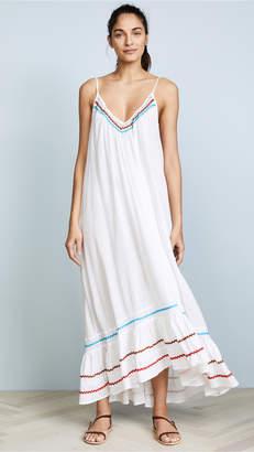 9seed Paloma Ruffle Maxi Dress