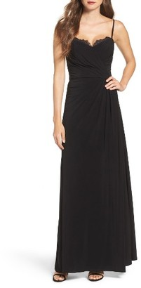 Women's Vera Wang Pleated Gown $278 thestylecure.com