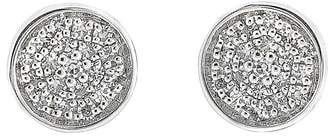 Carriere JEWELRY Pave Disc Stud Earrings