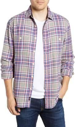 Faherty Seasons Regular Fit Plaid Flannel Shirt