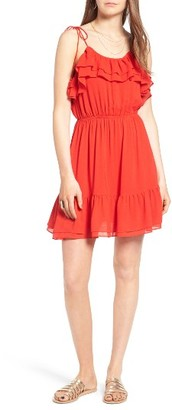 Women's Moon River Ruffle Dress $90 thestylecure.com