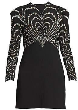 Givenchy Women's Silk Floral Design Short Dress