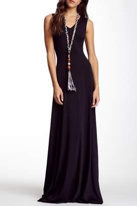 Couture Go V-Neck Sleeveless Maxi Dress