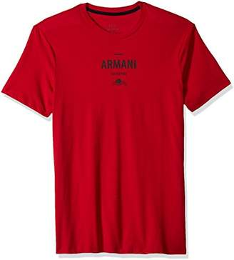 Armani Exchange A|X Men's Small Sunset Graphic tee