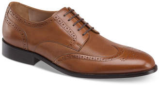 Johnston & Murphy Men's Hernden Perforated Wingtip Lace-Up Oxfords