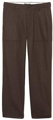 Banana Republic JAPAN ONLINE EXCLUSIVE Relaxed Italian Wool-Blend Utility Pant