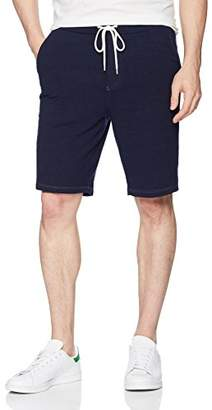 Monrow Men's Heather Fleece Vintage Shorts