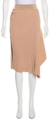 Stella McCartney Metallic Knee-Length Skirt w/ Tags