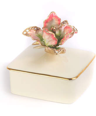 Jay Strongwater Tulip Porcelain Box