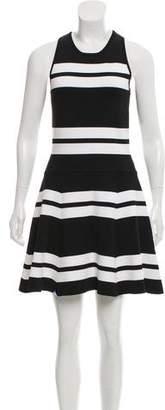 A.L.C. Knit Striped Mini Dress