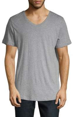 Saks Fifth Avenue Short-Sleeve V-Neck Tee