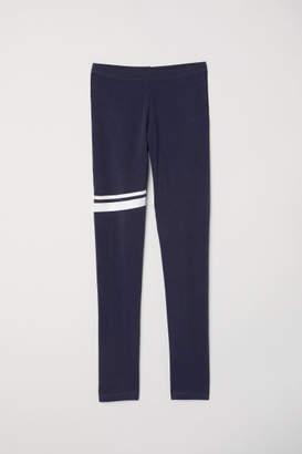 H&M Jersey Leggings - Blue