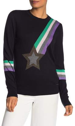 Ted Baker Crew Neck Shooting Star Sweater