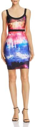 Wow Couture Tie-Dye Body-Con Dress - 100% Exclusive