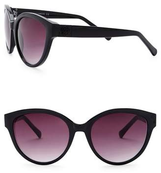 Vince Camuto 52mm Metal Temple Cat Eye Sunglasses