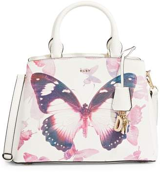 DKNY Leather Butterfly Satchel