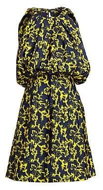 Calvin Klein Women's Floral Blouson Dress