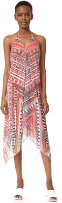 Ramy Brook Capri Herringbone Print Nadia Dress $395 thestylecure.com