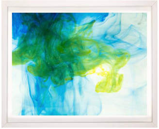 Arte Maison Ink And Water Photograph No. 2 Framed Artwork
