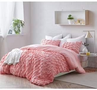 Byourbed BYB Layered Pleats Duvet Cover - Strawberry Quartz
