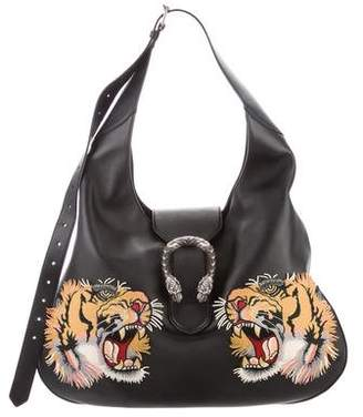Gucci Large Embroidered Dionysus Hobo