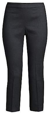 Theory Women's Basic Linen-Blend Pull-On Pants