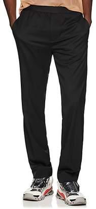 Helmut Lang Men's Elastic-Waist Wool Trousers - Black