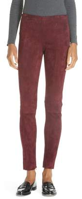 Polo Ralph Lauren Pull-On Skinny Suede Pants
