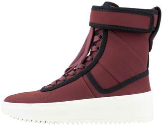 finest selection 9b473 94129 Fear Of God Burgundy Cloth Trainers