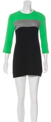 Diane von Furstenberg Aina Colorblock Dress
