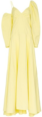 Rosie Assoulin Ups and Downs asymmetric gown