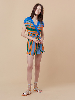 Mini Wrap Dress $248 thestylecure.com