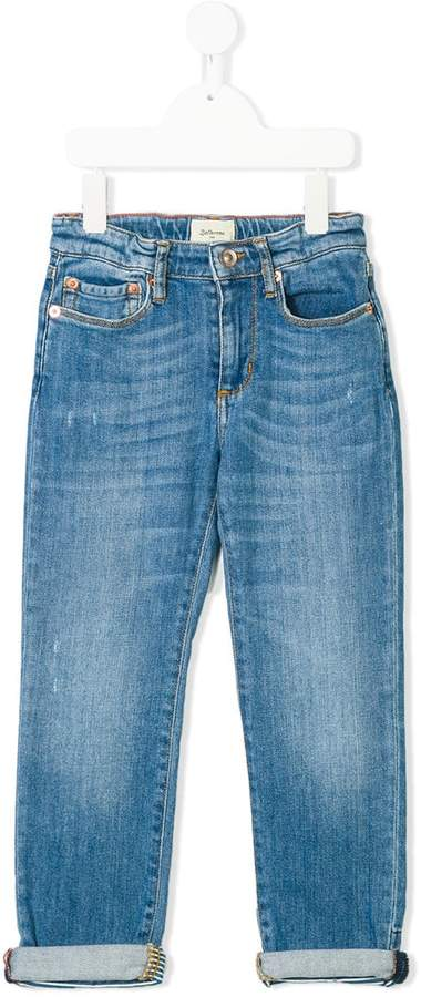 Bellerose Kids distressed regular fit jeans