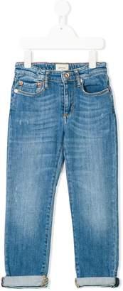 Bellerose Kids distressed regular fit jeans