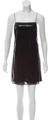 Saint Laurent Sequined Mini Dress w/ Tags