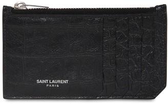 Saint Laurent (サン ローラン) - SAINT LAURENT レザーカードホルダー