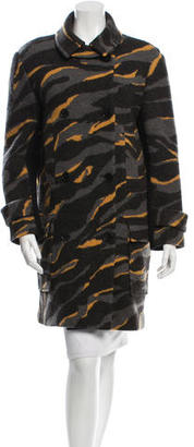 DKNY Wool Double-Breasted Coat $155 thestylecure.com