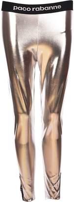 Paco Rabanne Logo Waistband Leggings