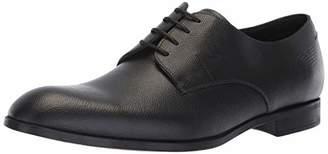 Emporio Armani Men's Logo Penny Loafer Uniform Dress Shoe,6 Regular UK (7 US)