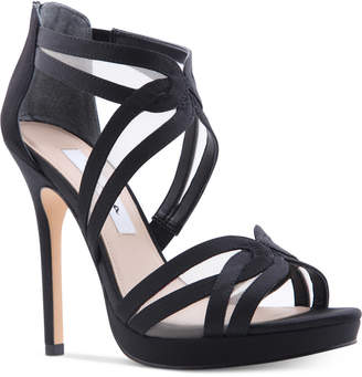 Nina Fayette Platform Evening Sandals Women's Shoes