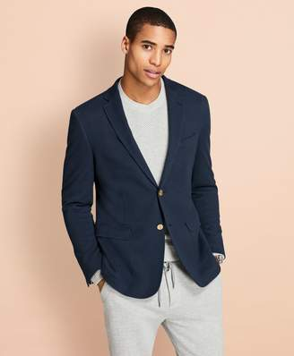 Brooks Brothers Pique Knit Blazer
